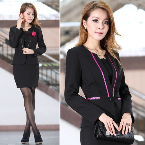 Factory Price Office Lady Suits Professional Women Work Uniforms