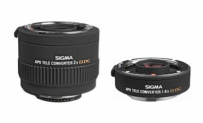 Sigma Teleconverters