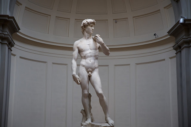 David statue at the Academia