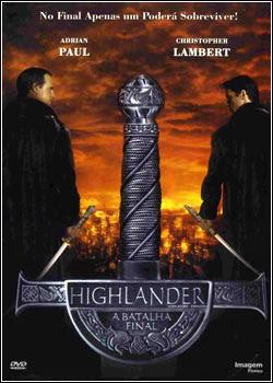Highlander 4  A Batalha Final Dual Áudio DVDRip