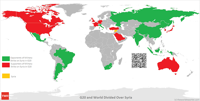 World divided over Syria at G20 Summit