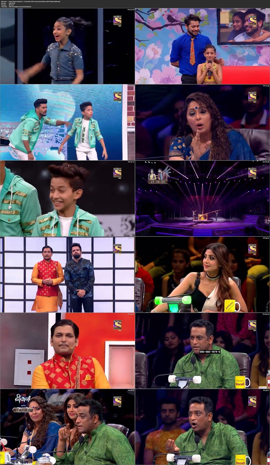 Super Dancer Chapter 2 2017 22 October 246MB HDTV 480p at 9966132.com