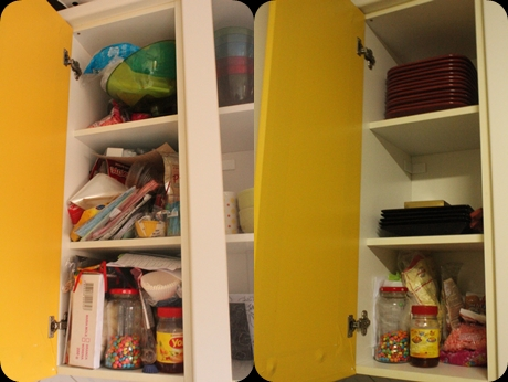 organizando armários