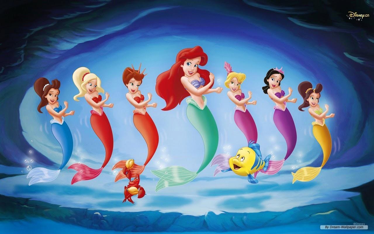 Little Mermaid HD Wallpapers