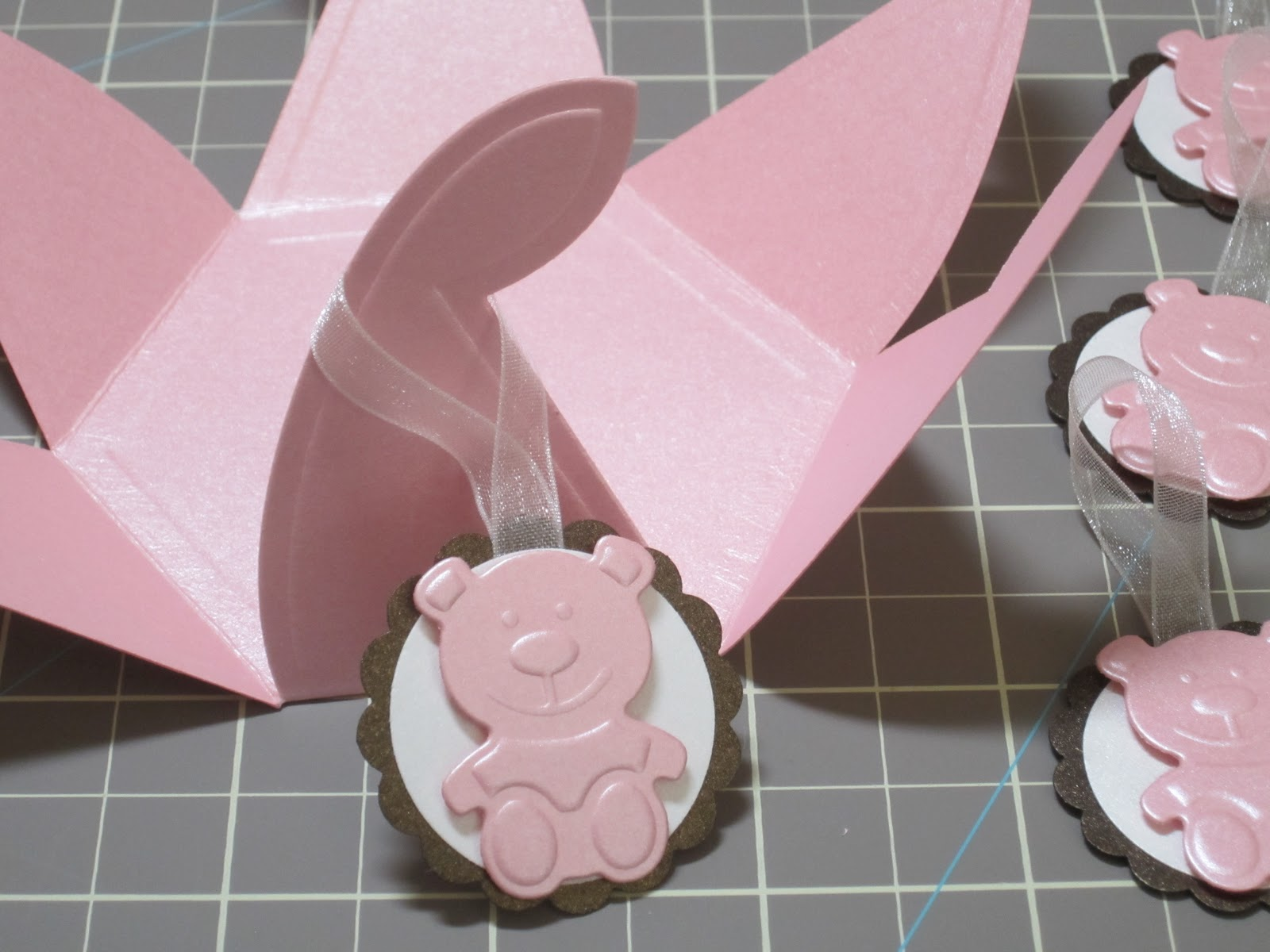 Designs by Marisa: Baby Shower Party Favor Boxes