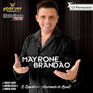 Mayrone Brandão - CD Promocional Divisão De Bens - 2016