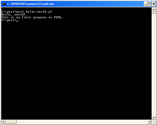 I/O from the Command Line