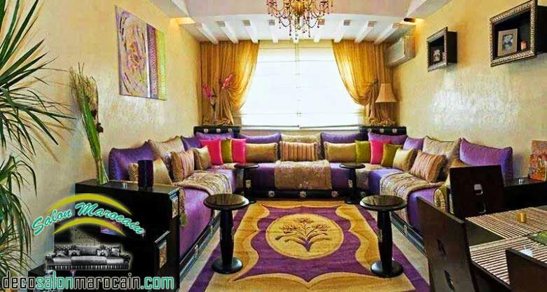 Boutique salon marocain 2016 2017 salon marocain 2014 for Modele de decoration salon