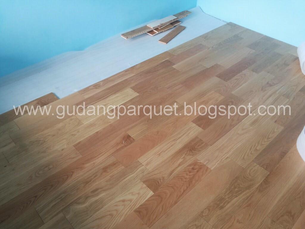 jual lantai kayu engineered oak murah dan oke