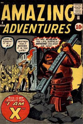 Amazing Adventures  #4, X