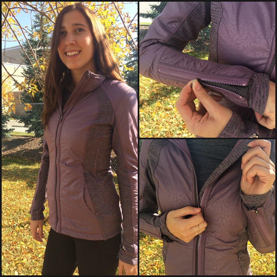 lululemon purple fog rebel runner jacket