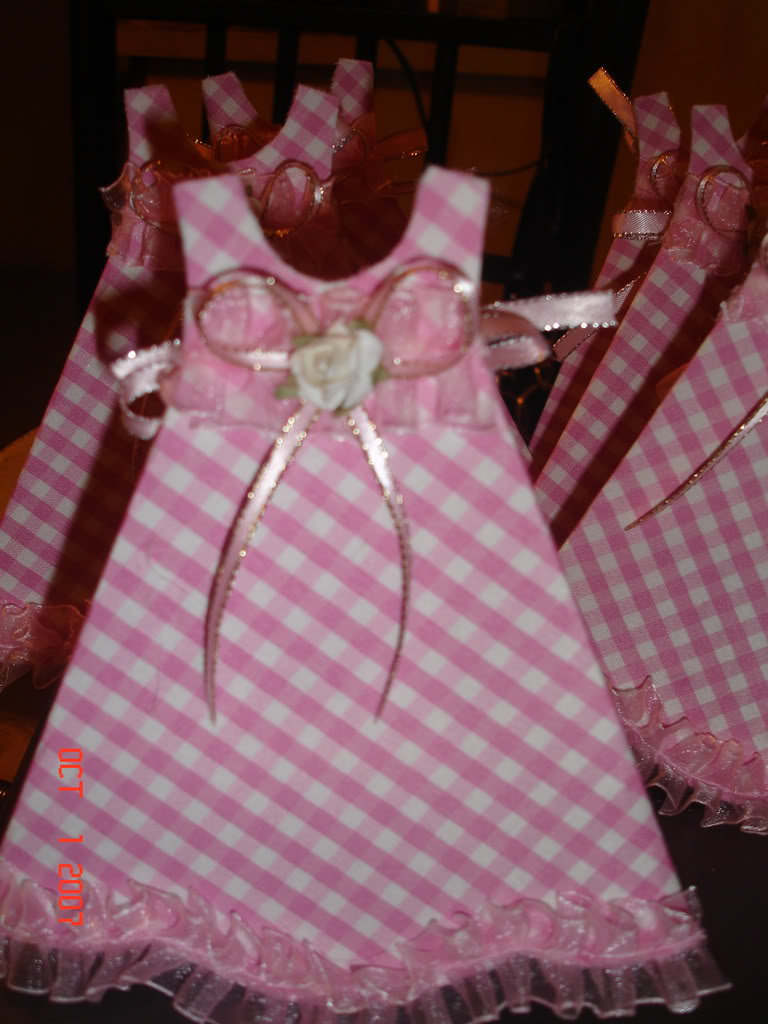 El Taller de Pily: tarjeta invitacion baby shower niña
