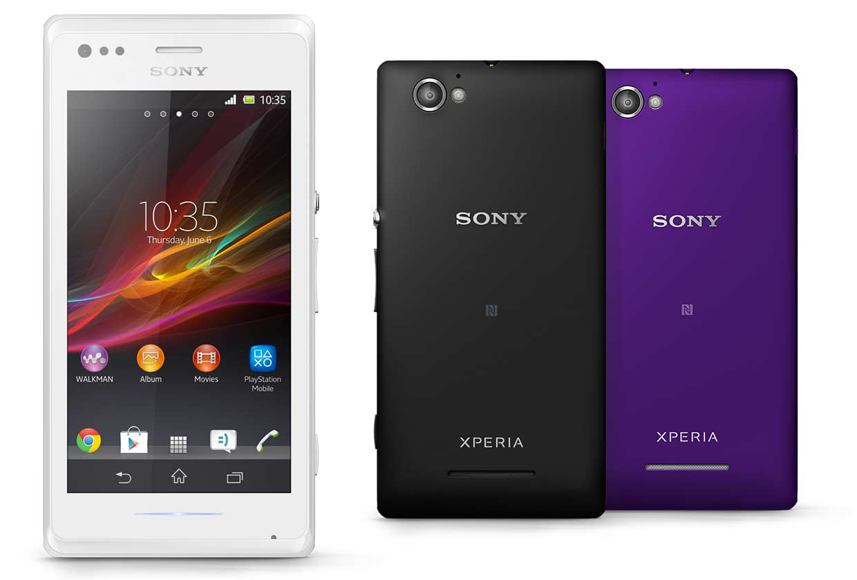 sounds like accessories for sony xperia m dual didn't have