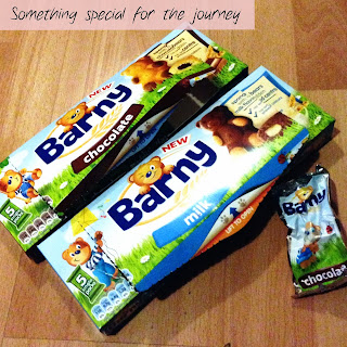 Barny sponge bar boxes and wrapper