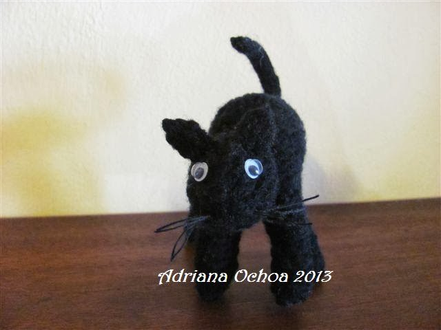 Amigurumi Gato Negro : Amigurumis amorosos: otro gato negro??? será posible???