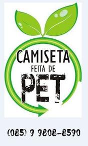 CAMISETA FEITA DE PET