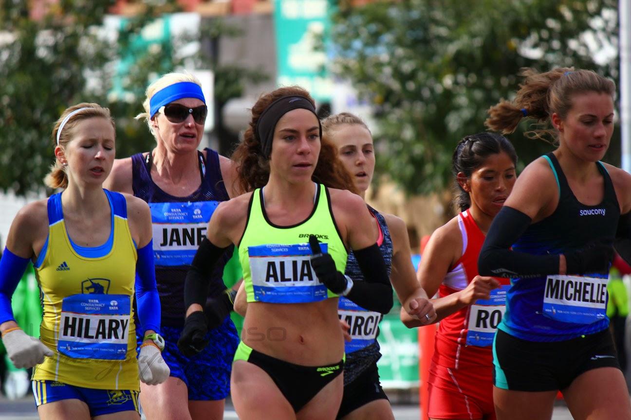 El Maratón de la Ciudad de Nueva York 2014 - mujeres