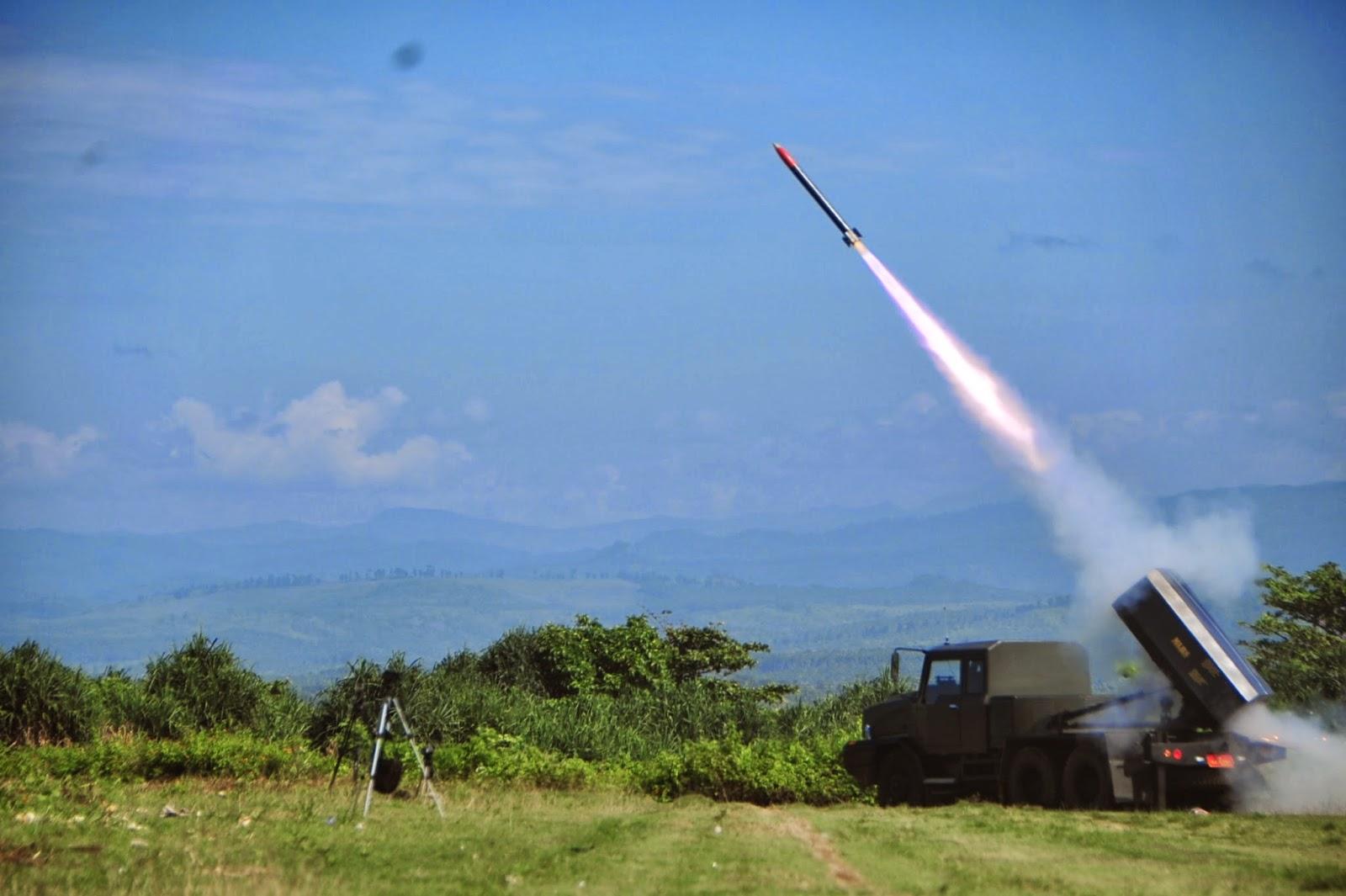 Rantis Berpeluncur Roket Produksi Balitbang Kemhan Diuji coba
