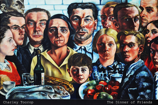 Dinner of Friends Charley Toorop Boijmans Museum Rotterdam