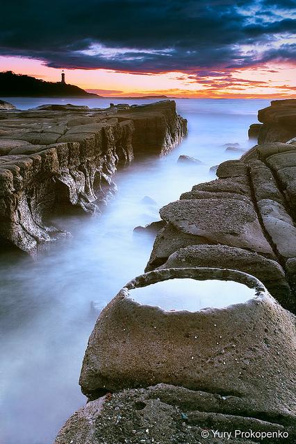 Sunrise at Soldiers Beach, Central Coast, NSW Australia
