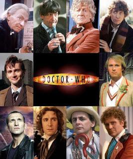 Atores que viveram o personagem Doutor na série Doctor Who