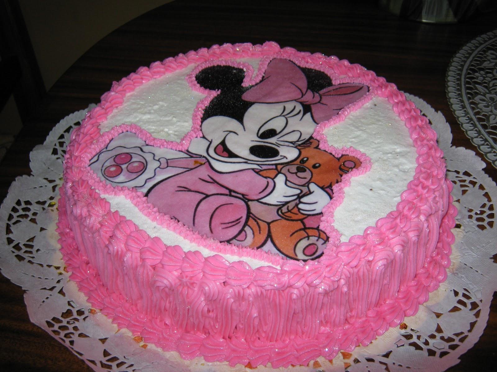 Modelos de tortas de Minnie Mouse - Imagui