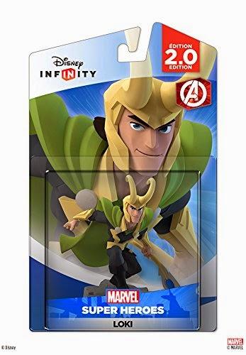 JUGUETES - DISNEY Infinity 2.0 - Figura Loki : Los Vengadores   (2015) | Muñeco | Videojuegos | Marvel Super Heroes  Videojuegos | Producto Oficial | A partir de 7 años Xbox One, PlayStation 4, Nintendo Wii U, PlayStation 3, Xbox 360