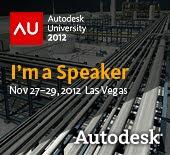 AU Las Vegas 2012 - Speaker