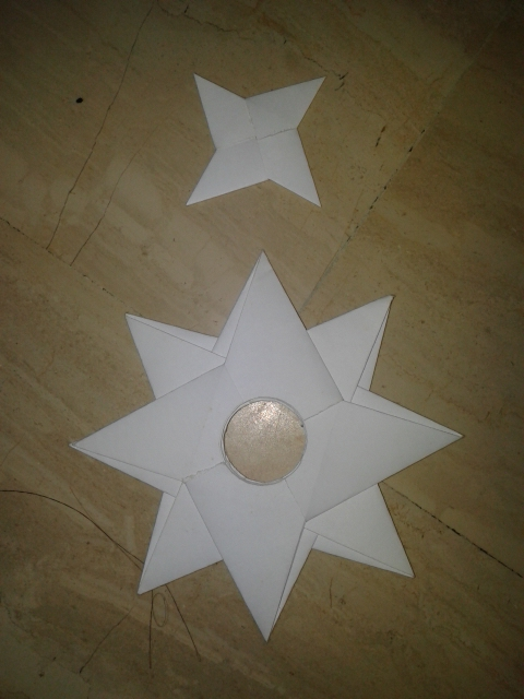 The gallery for --> Paper Ninja Star 16 Point