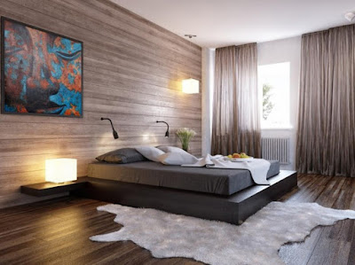 Creating Bedroom Design Bed On Floor With Comfort And Beauty Decor