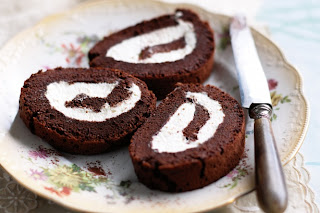 "<img alt="" gâteau au chocolat Roulé"""