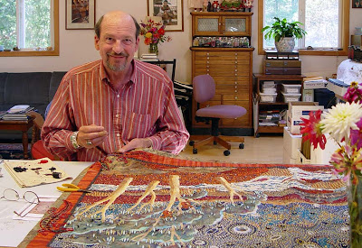 Thom Atkins, beaded quilt artist