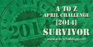 2014 AtoZ Challenge - 26 posts
