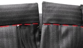 Чем проклеивают пояс у юбки