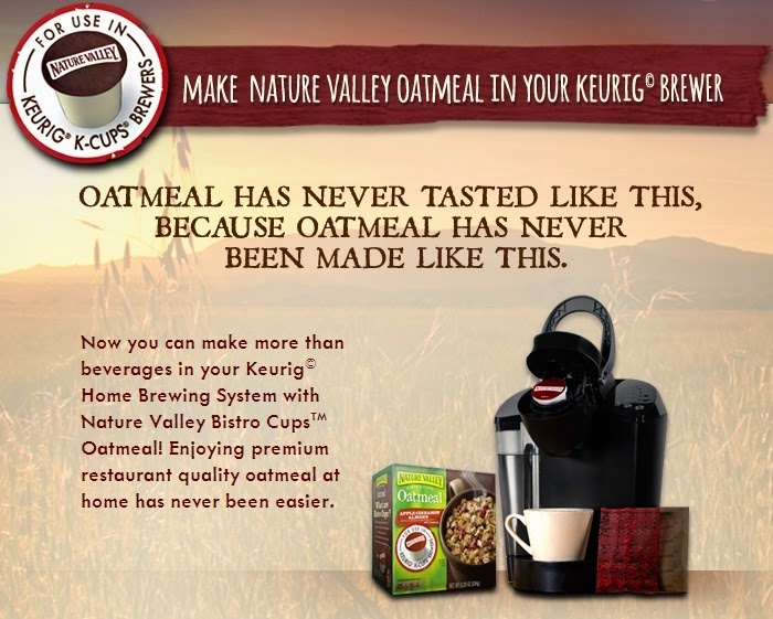 Nature Valley oatmeal