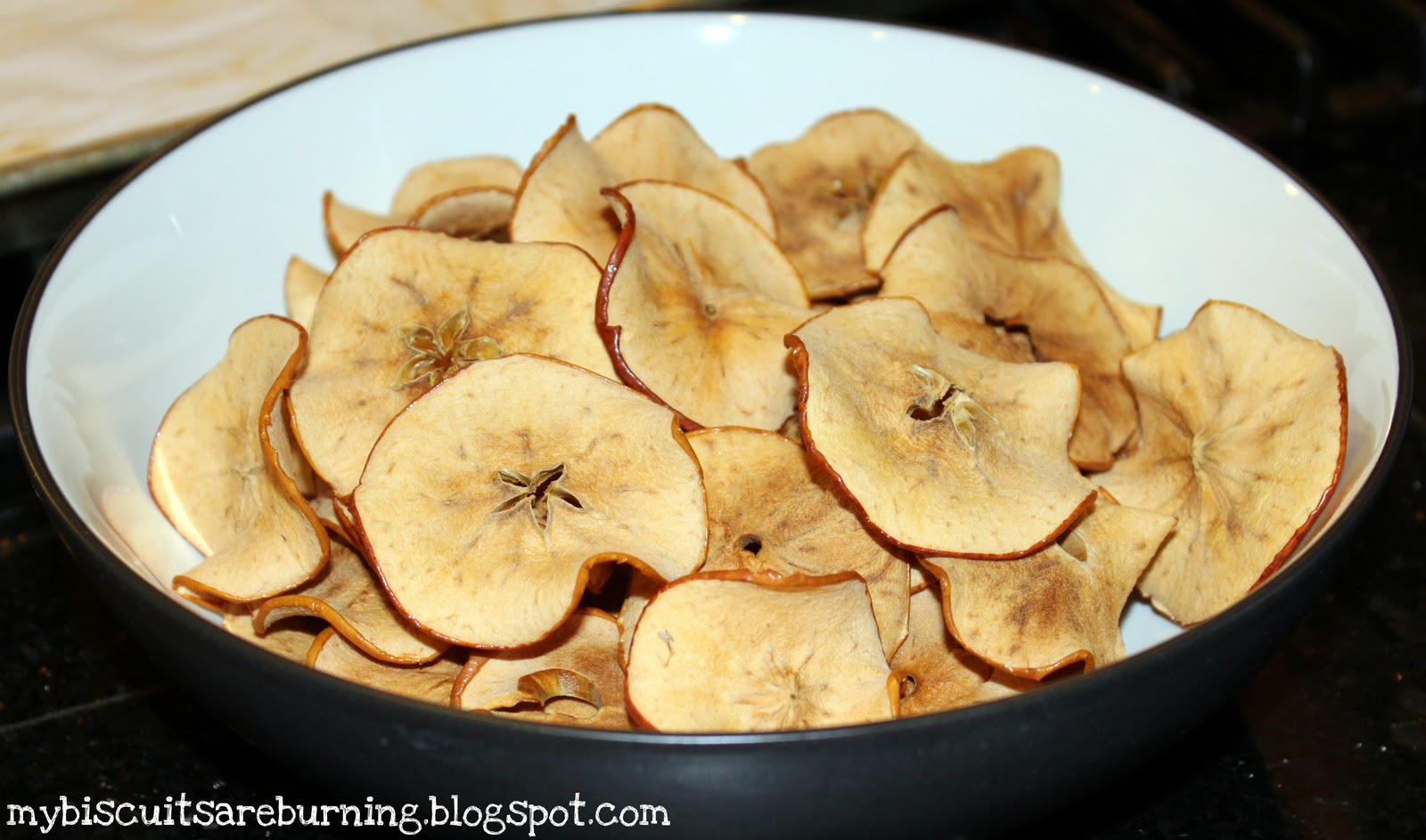 My Biscuits are Burning: Homemade Apple Chips