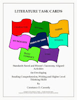 Reading Comprehension - Literature Task Cards