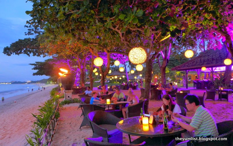Sunset Beach Bar And Grill Intercontinental Bali Indonesia Best