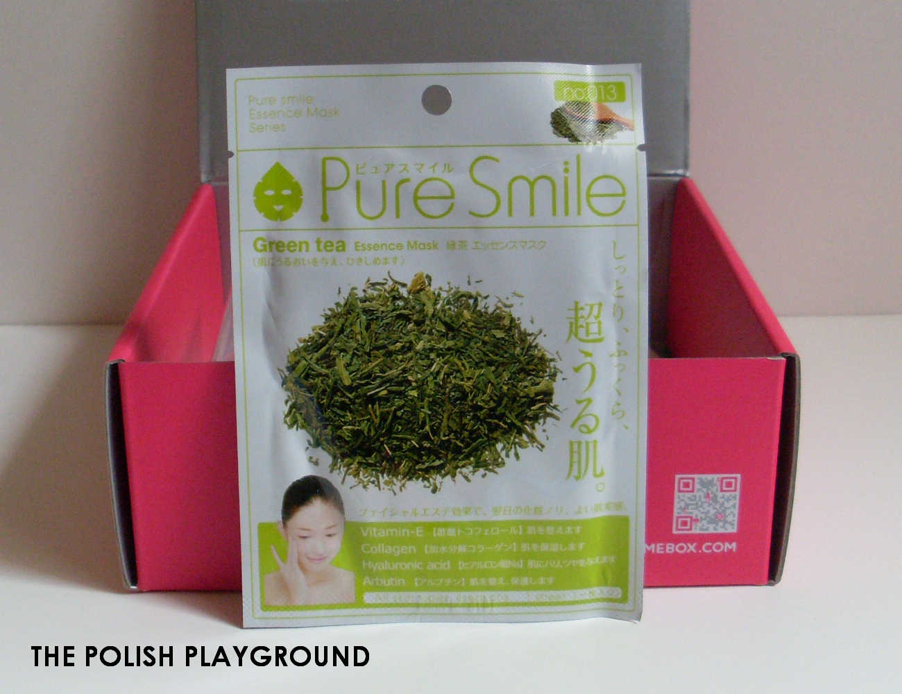 Memebox Special #39 Café Box Unboxing - Pure Smile [Original] Green Tea Mask Sheet