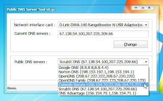 Public DNS Server Tools v0.91