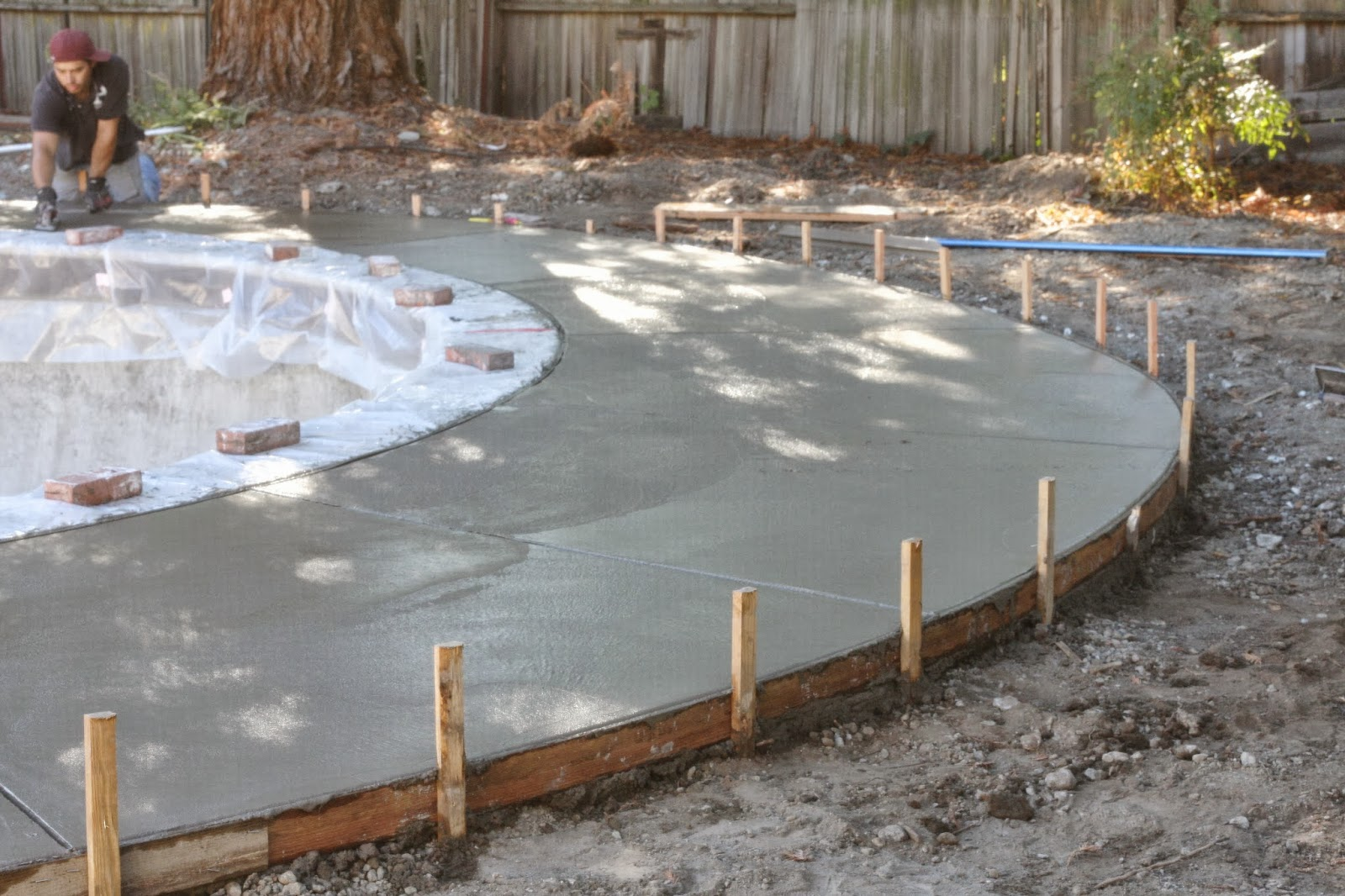 Swimming pool update it 39 s done simply organized - How soon can you swim after plastering pool ...