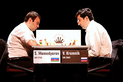 Tabuleiro Social - Início Mamedyarov-Kramnik2