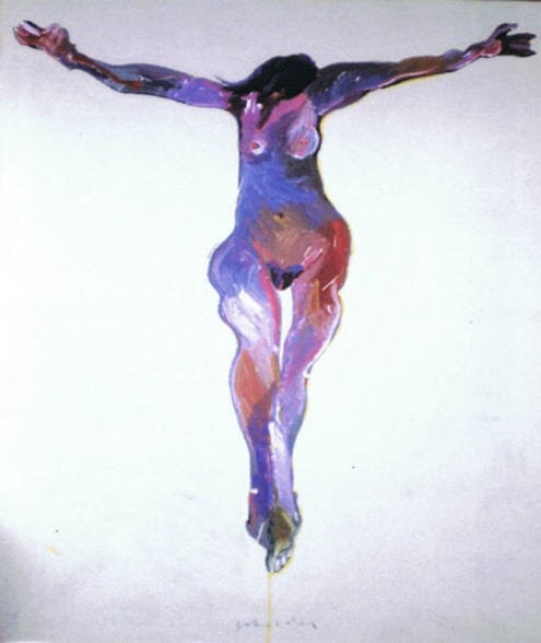 "Scholder/""Crucified Woman li"""