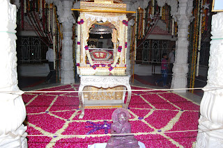 foot print of dada guru at malpura