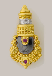 tirupathi balaji gold designs