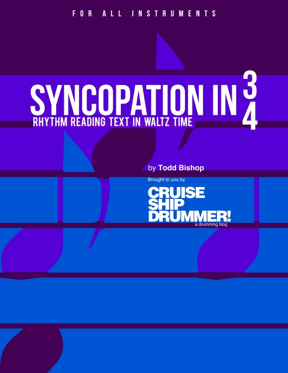 NEW E-BOOK: Syncopation in 3/4
