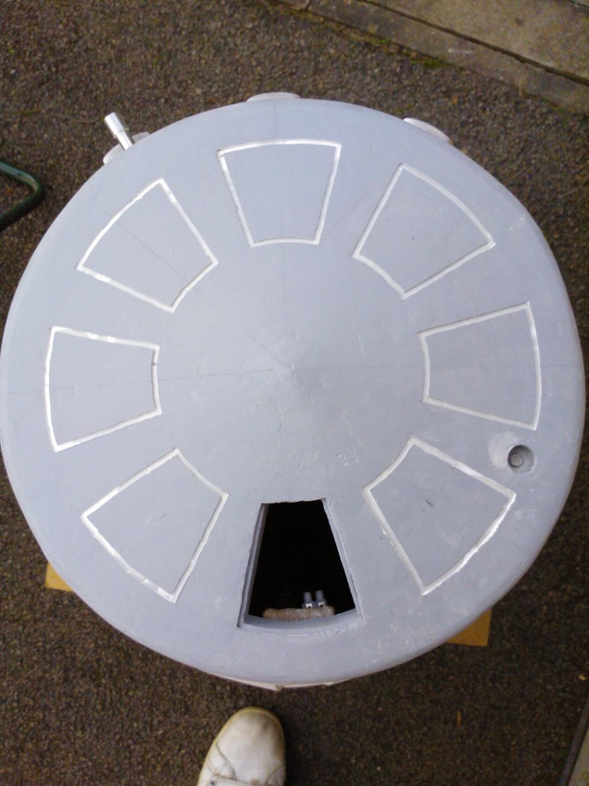 R5-D4 Dome pie panels