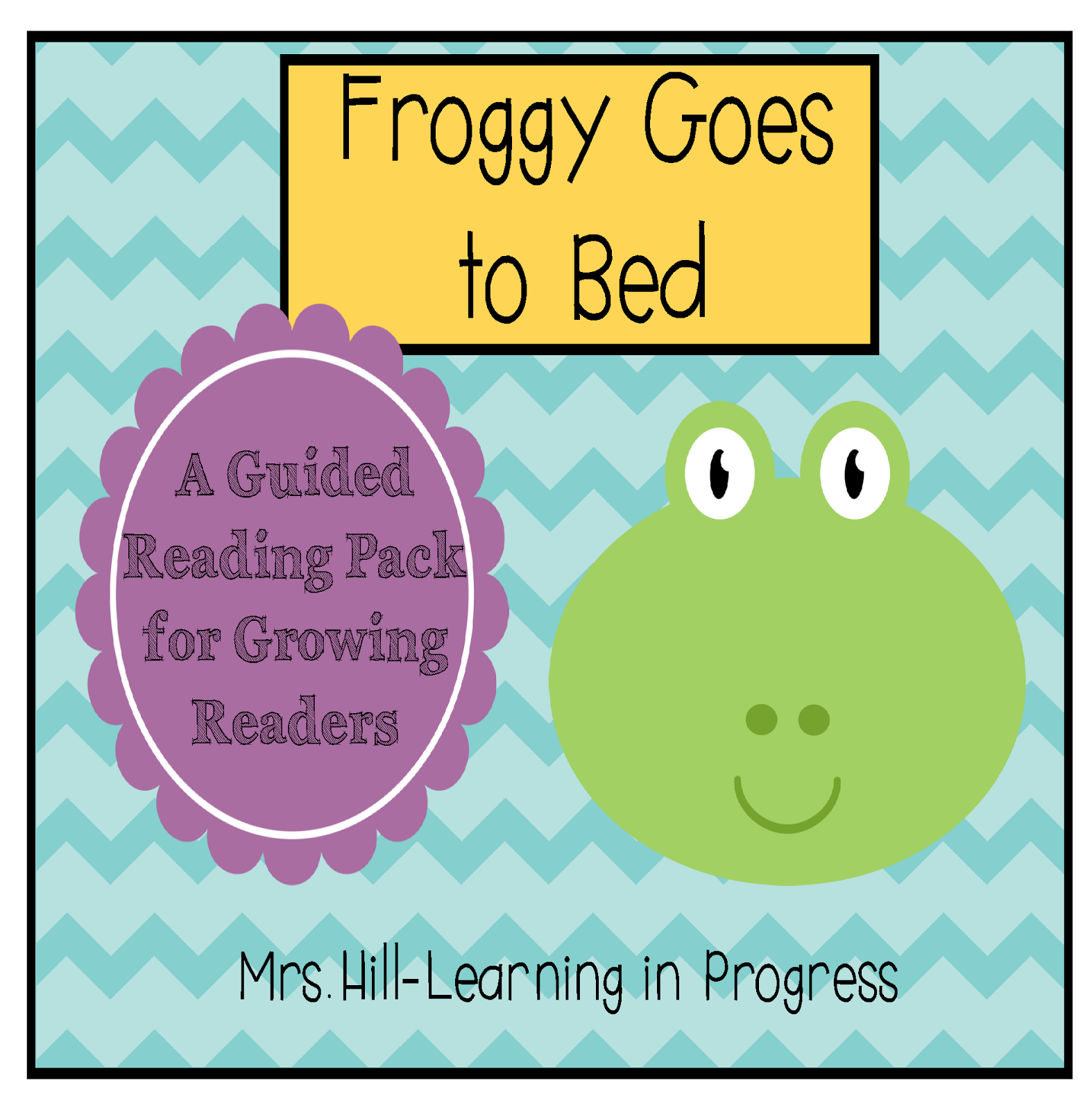 http://www.teacherspayteachers.com/Product/Froggy-Goes-to-Bed-Guided-Reading-for-Growing-Readers-1226348