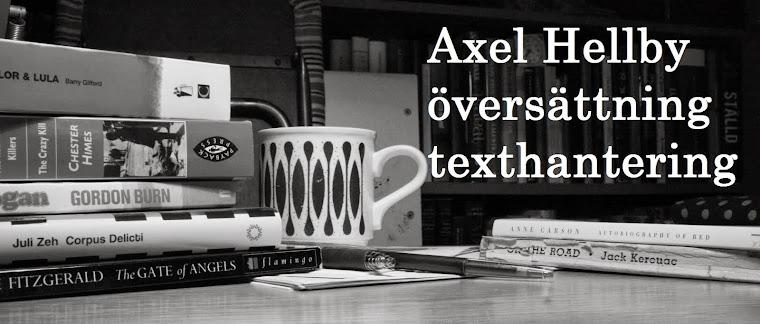 Axel Hellby - Textproduktion