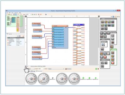 Visuino: entorno gráfico para Arduino.